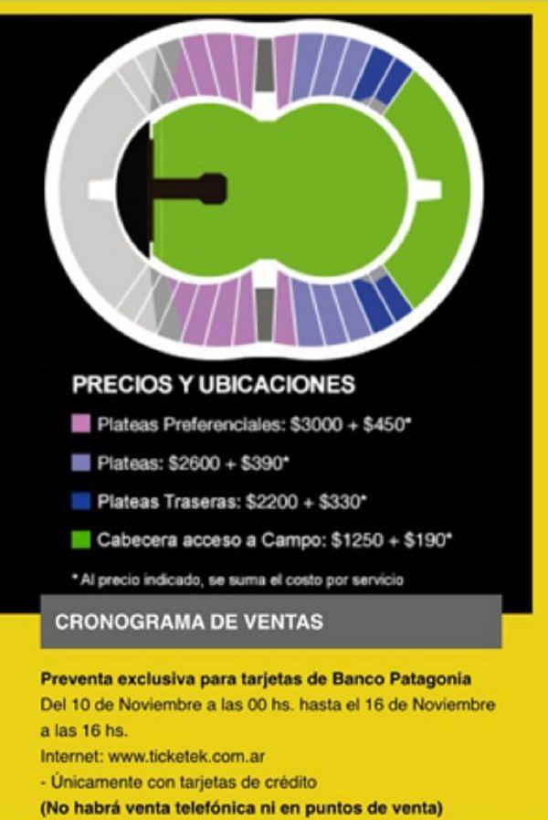 ¿Cuánto saldrán las entradas para ver a los Rolling Stones en Argentina?