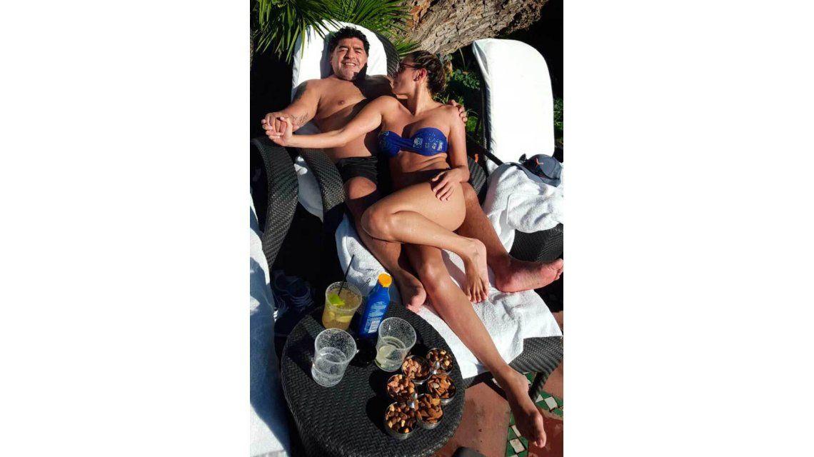 El viaje de Diego Maradona a Marruecos, en fotos: Cuando vuelva me caso