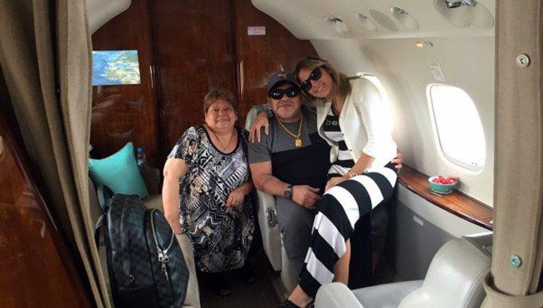 Diego Maradona pospuso el casamiento con Rocío Oliva