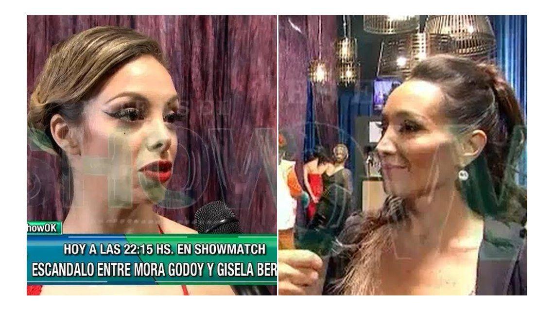 Gisela Bernal y Mora Godoy se cruzaron con todo: De me hijo no habla ni vos ni nadie