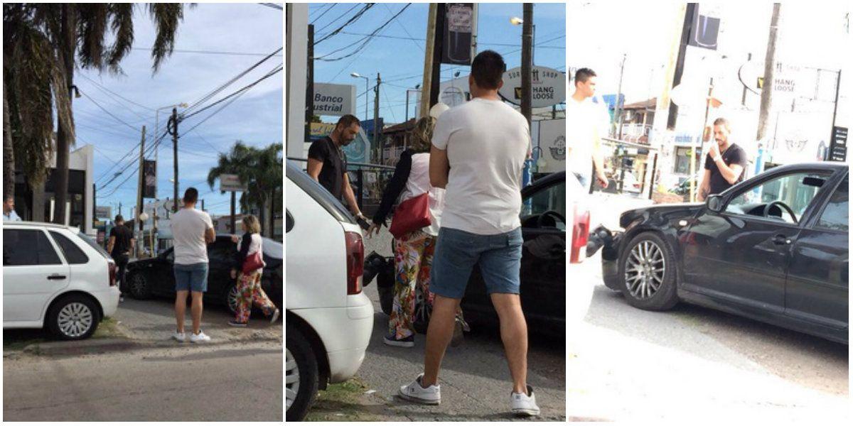 Ariel Diwan, protagonista de un accidente de tránsito: atropelló a un motociclista en Castelar
