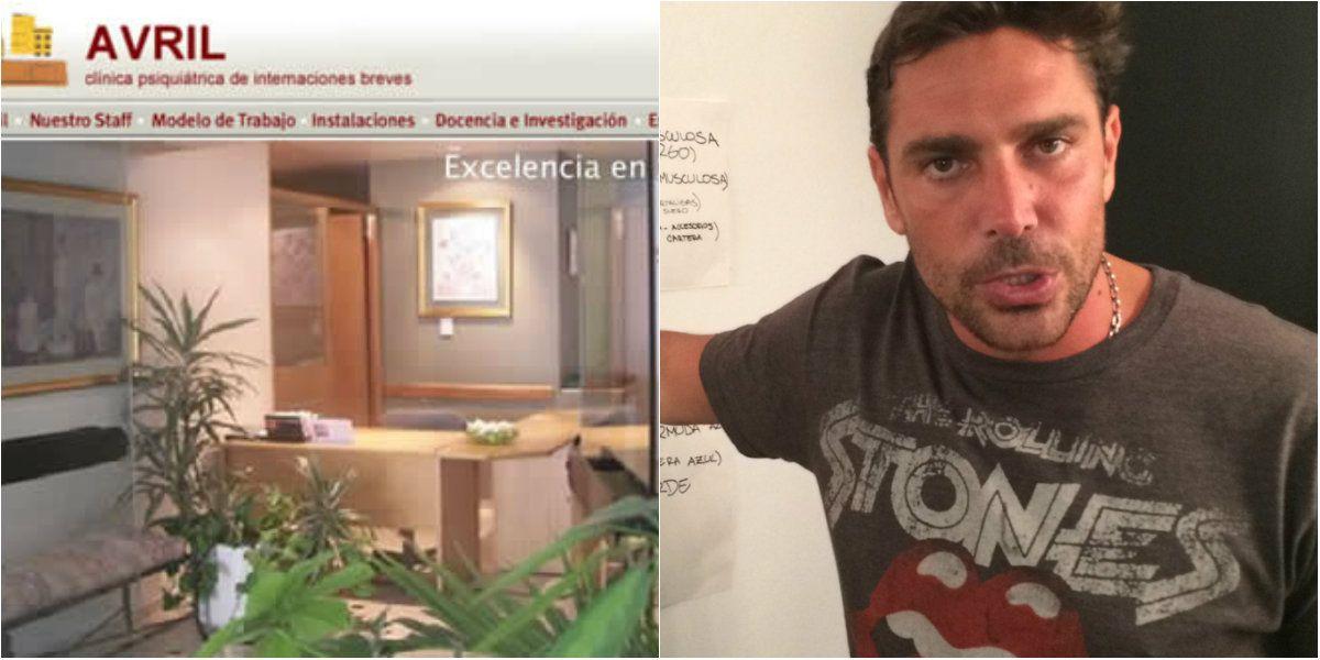 Cómo es Avril, la clínica psiquiátrica en donde estuvo internado Matías Alé: aislado y sin poder recibir visitas