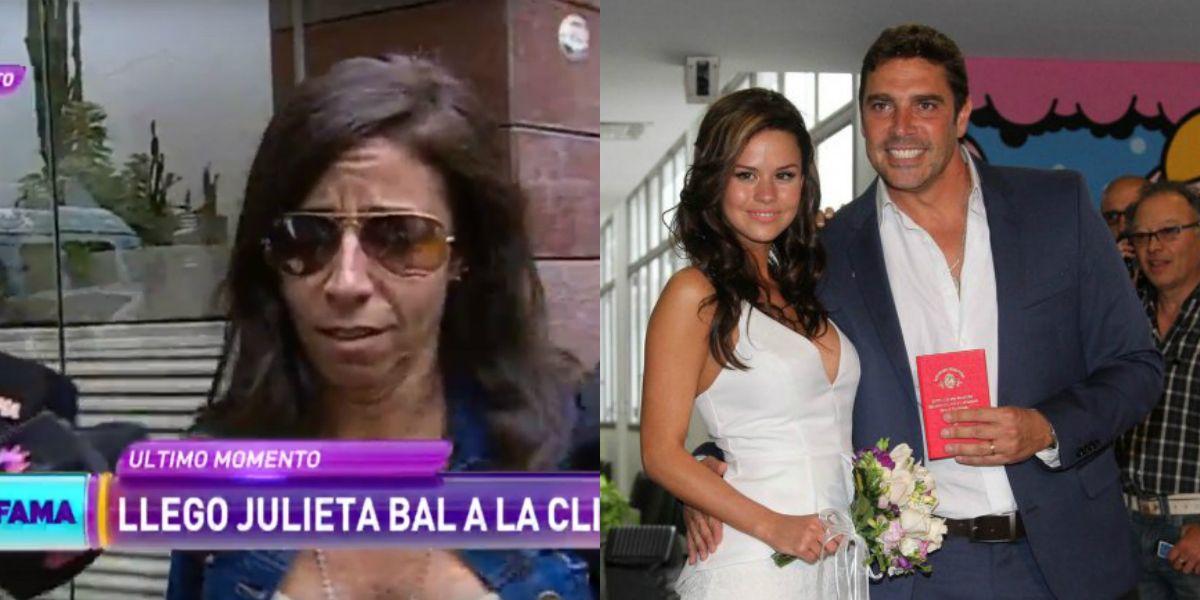El llanto desconsolado de Julieta Bal y el palito de María del Mar: En la clínica había gente...