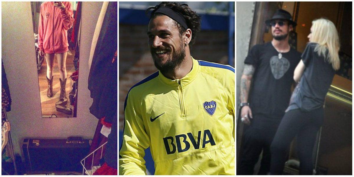 Militta Bora provoca en Instagram: foto hot con un buzo de Boca ¿y de Daniel Osvaldo?