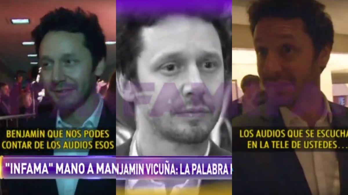 Benjamín Vicuña, sobre el escándalo de los audios con Pampita: Fue una tremenda violación a...