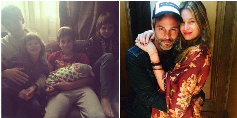 Dolores Barreiro presentó su hija Indra con una tierna foto familiar