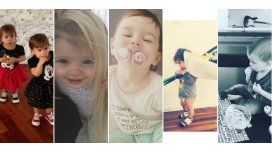 Lolo, Charis y Bella, Momo y Olivia, los bebés famosos que son furor en las redes