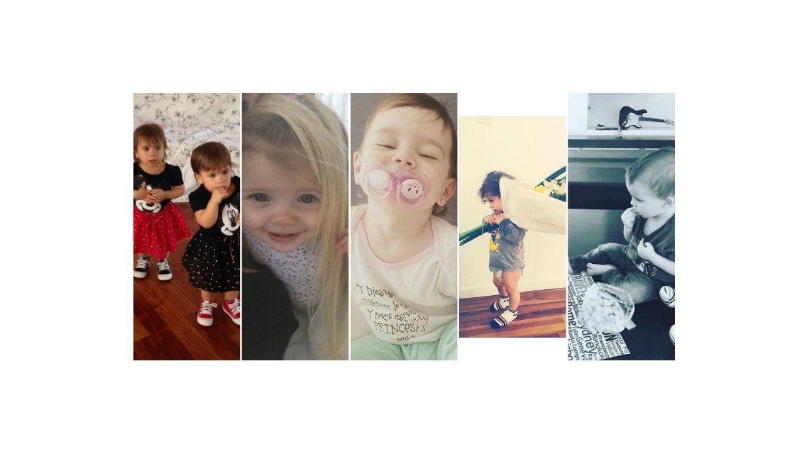 Lolo Tinelli, las mellizas Defederico, Momo Osvaldo, Olivia Alfonso, los bebés famosos que son furor en las redes