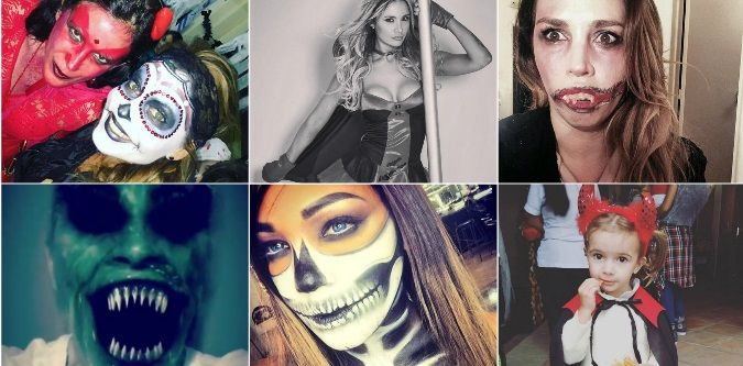¿Dulce o truco? Los famosos festejan Halloween en las redes sociales: disfraces y creatividad