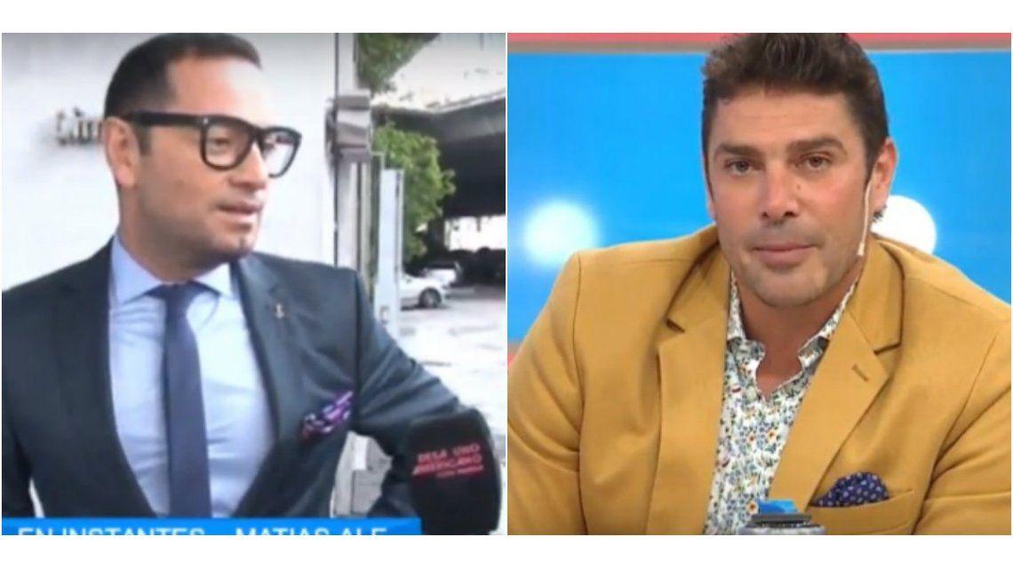 Habló Fabián Medina Flores y Matías Alé se defiende: Tengo los huevos inflados