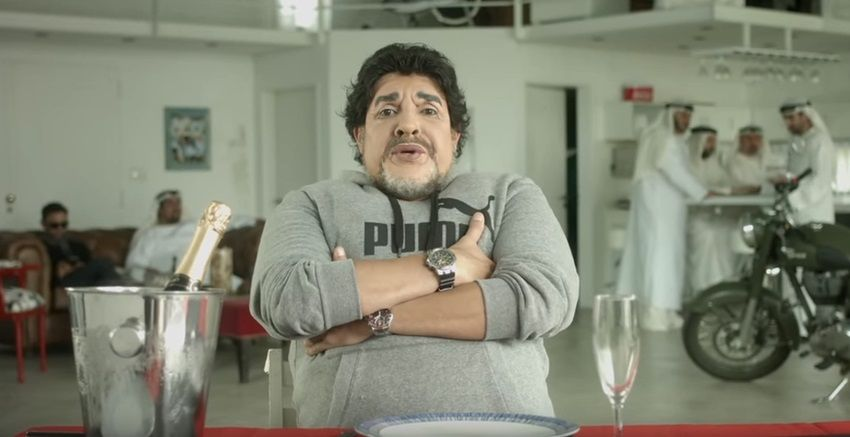 Martín Bossi juntó a Diego Maradona con Lionel Messi en el día del cumpleaños del 10: desopilante video
