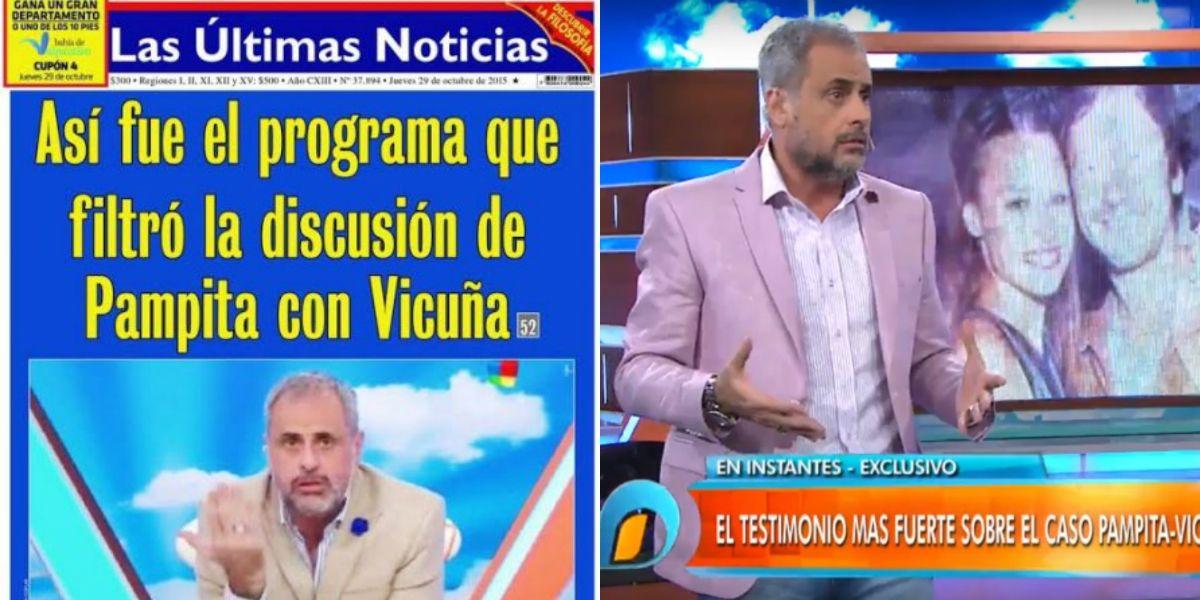La guerra de la prensa chilena contra Intrusos y Jorge Rial
