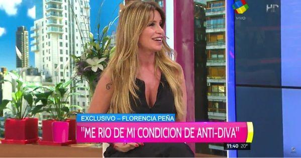 Florencia Peña: por qué se siente casi diva, la crítica a las que se autoproclaman y sus diferencias con Mirtha