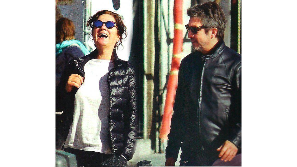 Ricardo Darín y Florencia Bas, juntos, disfrutan el otoño europeo
