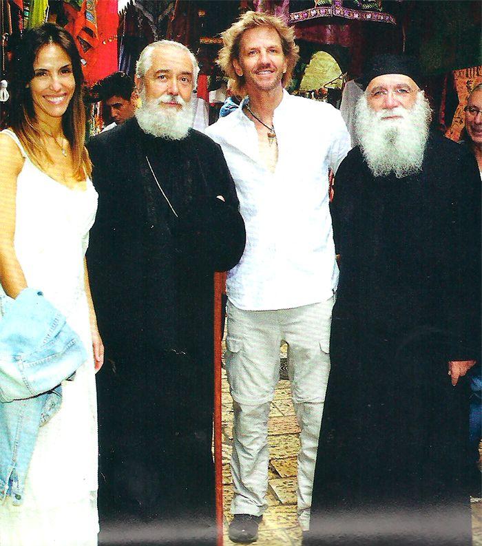 El viaje místico de Facundo Arana y María Susini a Tierra Santa: Hace tiempo no viajábamos solos