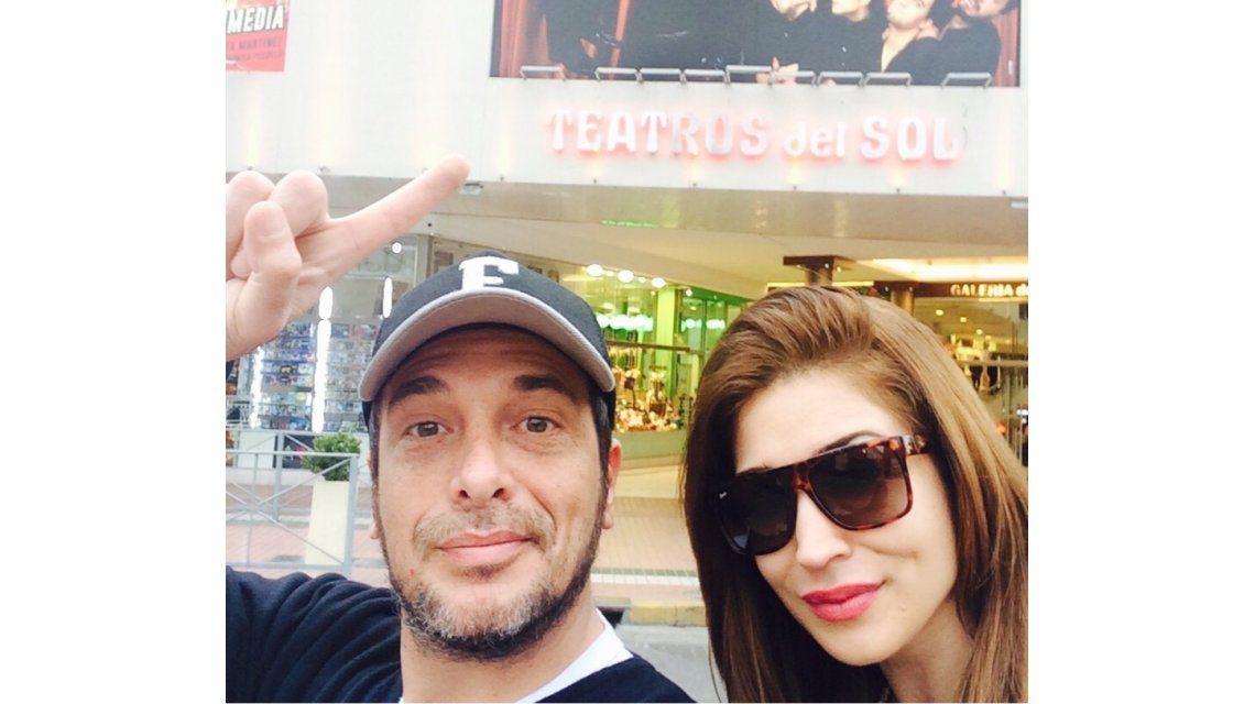 El fin de semana romántico y laboral de Marcelo Cosentino y Laura Bruni en Villa Carlos Paz