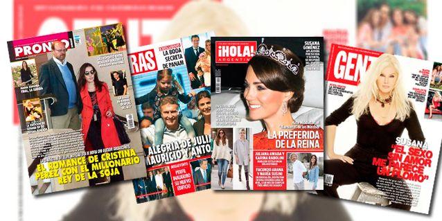 Tapas de revistas: la intimidad de romance de Cristina Pérez y el empresario sojero, y la segunda luna de miel de Facundo Arana y María Susini