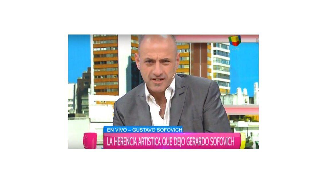 La herencia de Gerardo Sofovich a su hijo Gustavo: Todo es mío, de Tatiana y Nacho