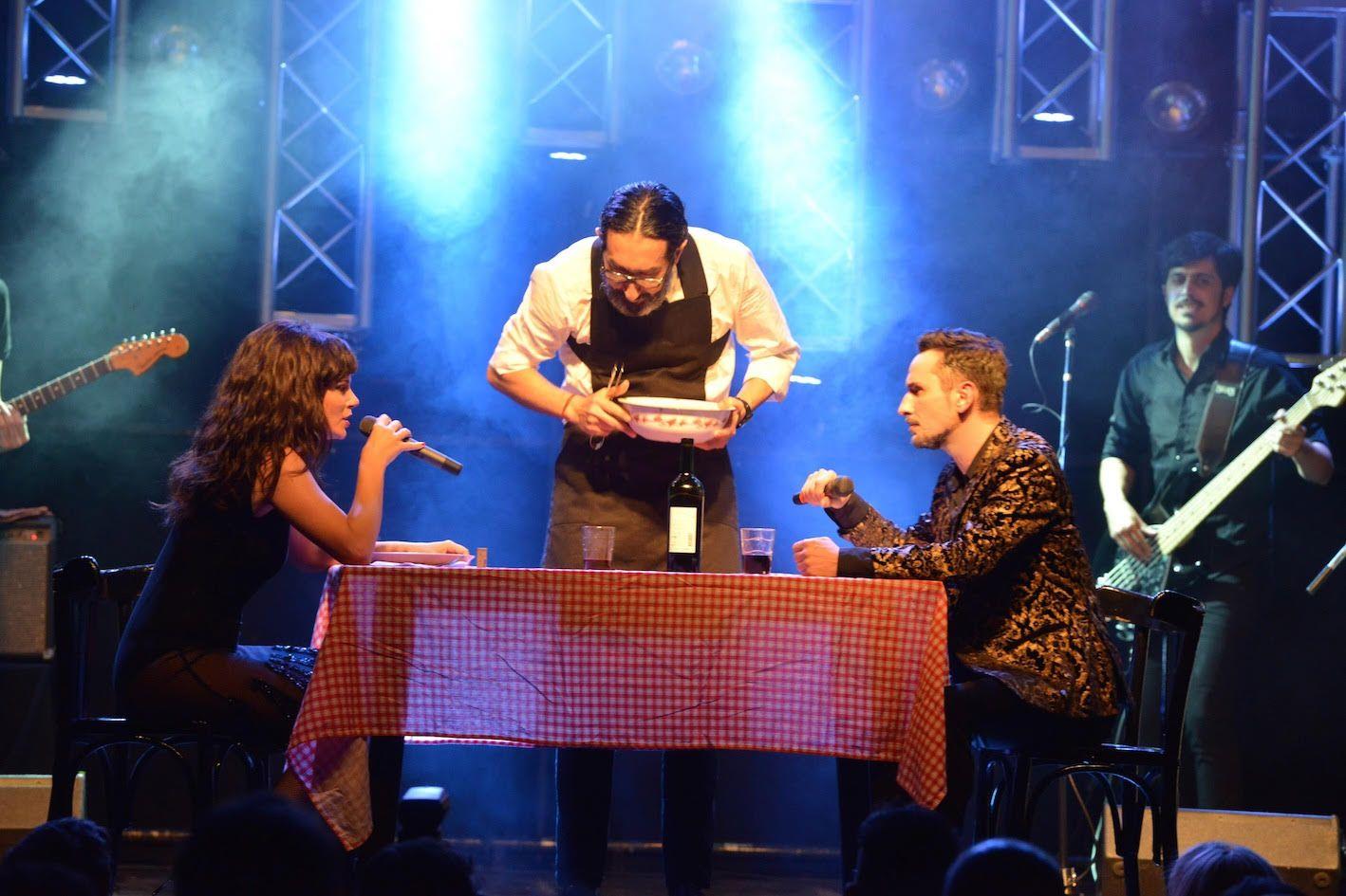 Griselda Siciliani, súper hot sobre el escenario: mirá las mejores fotos del estreno de Sputza