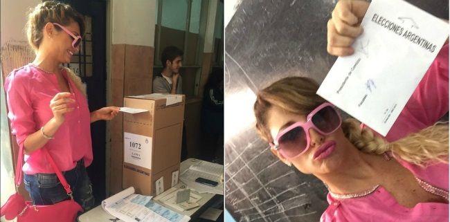 Vicky Xipolitakis lo hizo de nuevo: se grabó en el cuarto oscuro y ¡mirá lo que pasó!