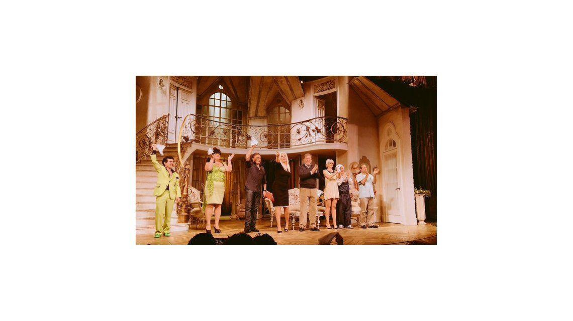RatingCero estuvo en la última función de Susana Giménez en Piel de Judas