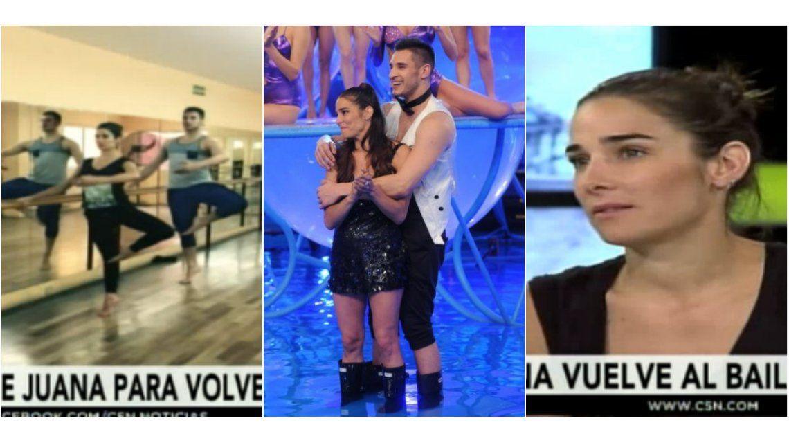 Juana Viale, su campaña por volver y guiño al Chato Prada: Me fui triste del Bailando