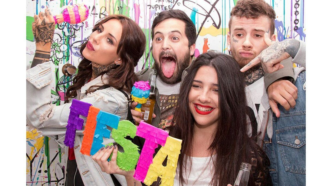 Las fotos de la fiesta aniversario de Madness Clothing, la marca de Candelaria Tinelli