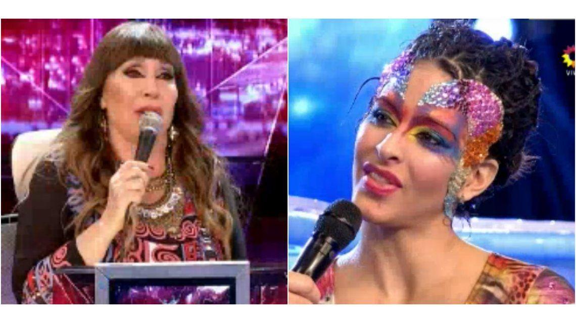 La peor devolución de Moria Casán a Celeste Muriega: críticas al baile ¡y al padre por repartir panfletos!