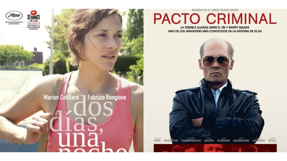 Los estrenos de la semana: Pacto Criminal y Dos dìas, una noche