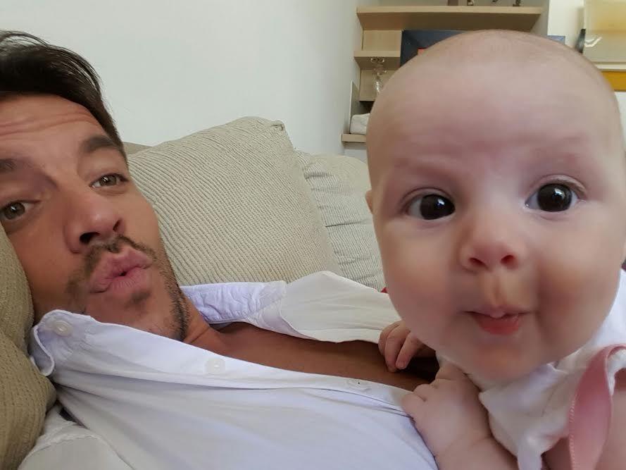 Francisco Delgado, enamorado de su hija Elena: las fotos más tiernas juntos