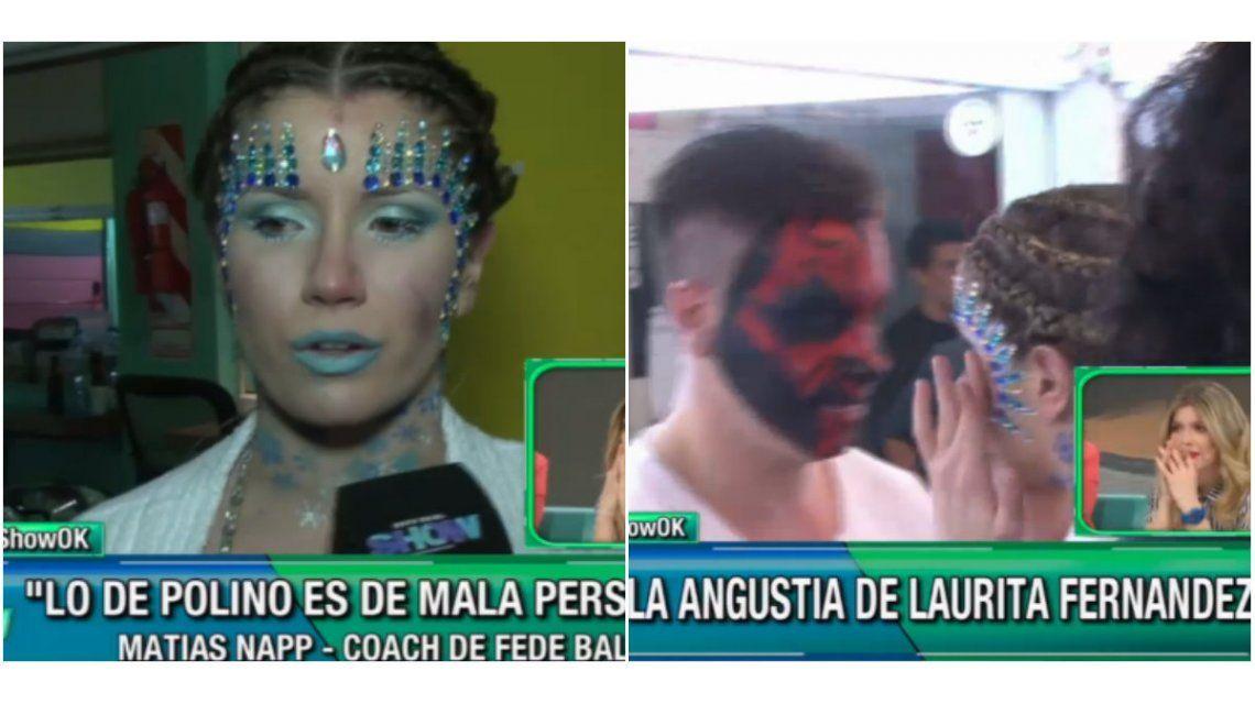 El ataque de llanto de Laurita Fernández por el bajo puntaje del aquadance