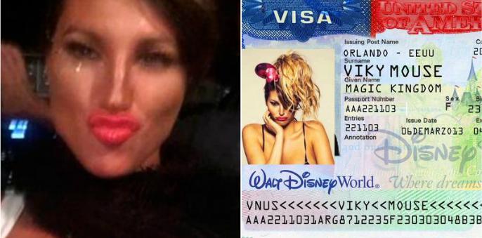Vicky Xipolitakis se negó a declarar y se ríe de la Justicia: mostró un falso documento de Vicky Mouse