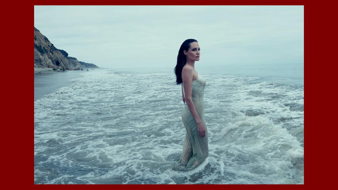 Impactante tapa de una revista norteamericana: Angelina Jolie, moribunda, perdiendo la batalla