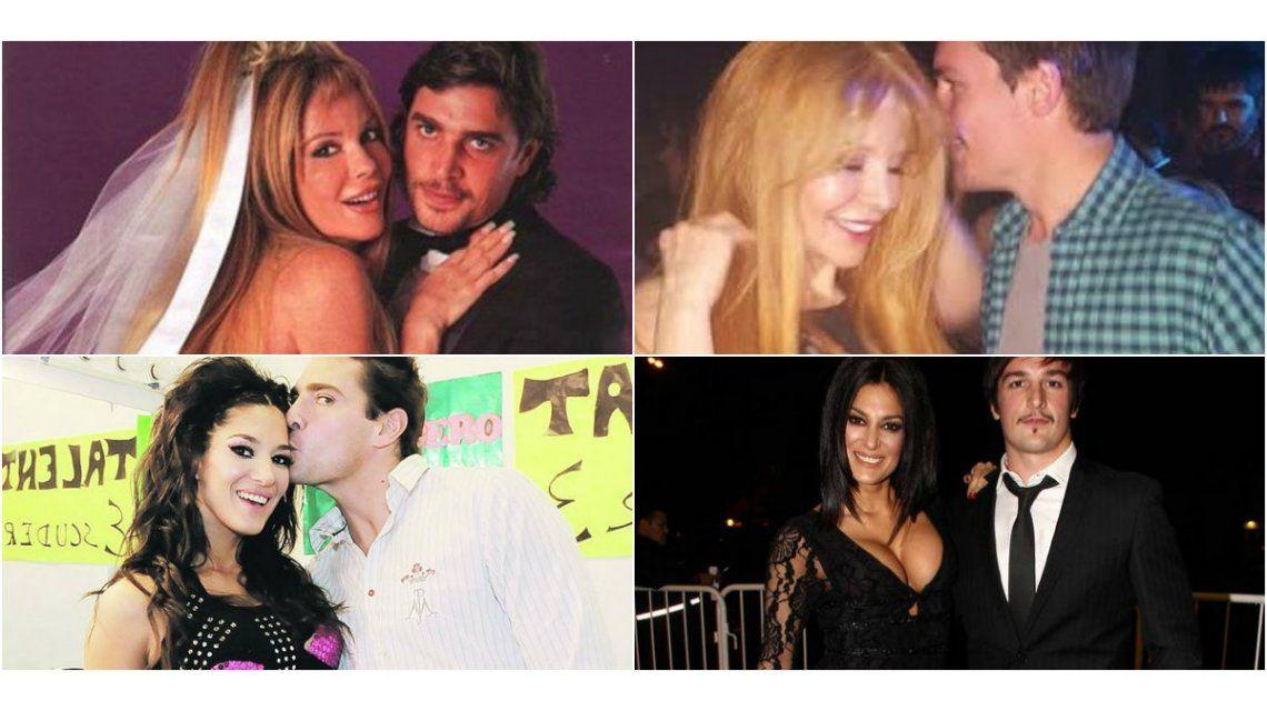 Cuarteto amoroso: las fotos de Graciela Alfano, muy mimosa con Martín Amestoy