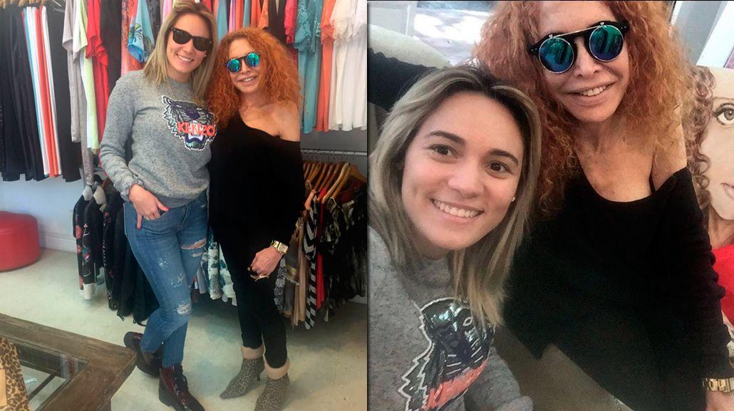 Rocío Oliva insiste en casarse con Maradona: se reunió con la diseñadora del vestido de novia