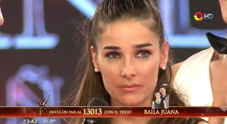 Juana Viale quedó en el teléfono con Celeste Muriega y se quebró: Yo entré acá por mi hija