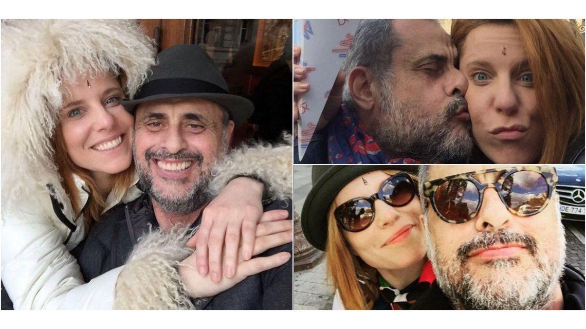 El romántico mensaje de Agustina Kämpfer por el cumpleaños de Jorge Rial y la anécdota de su fallido primer beso