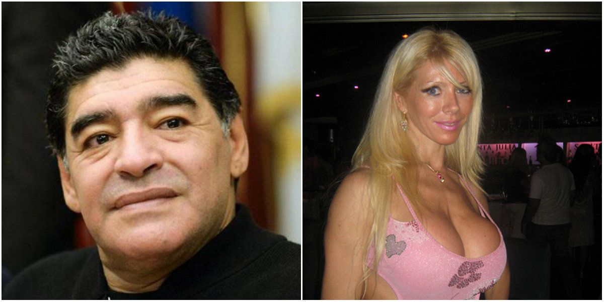 Habló la cordobesa de la discordia acusada de separar a Maradona y Rocío Oliva: Es un diez como amante