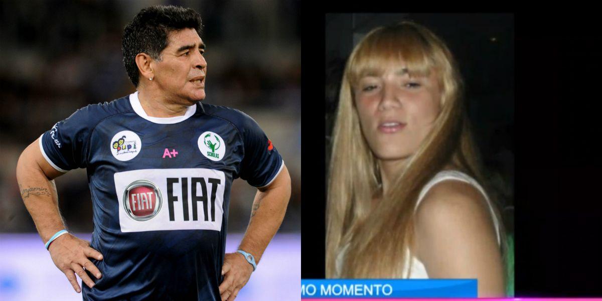 La historia detrás de la foto prohibida de Rocío Oliva: la mentira a Maradona