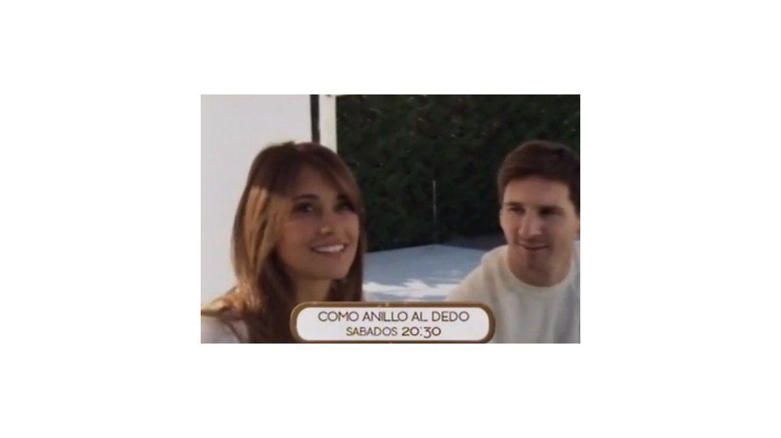 Messi y Antonella Roccuzzo: divertida promo del programa de Nicolás Vázquez