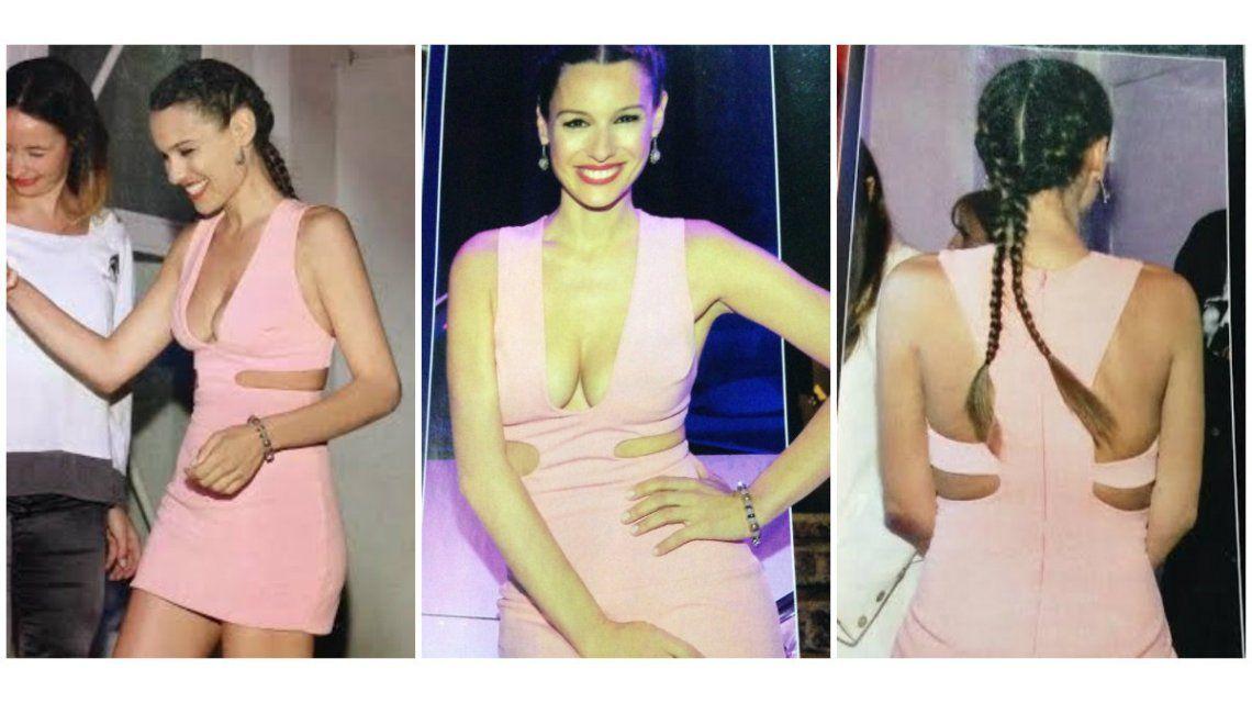 Pampita Ardohain: look sensual en un evento ¡y súper flaca!
