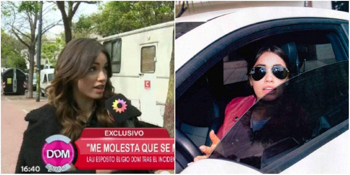 Lali Espósito confirmó su agresión a los fotógrafos y justificó su furia: No me banco que muestren mi casa