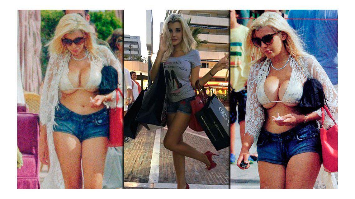 La verdadera figura de Charlotte Caniggia, muy distinta a la que muestra en las redes