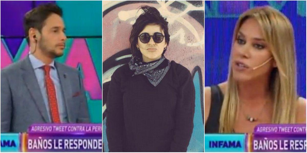 La respuesta de Marcela Baños a Gianinna Maradona, que negó una picante información