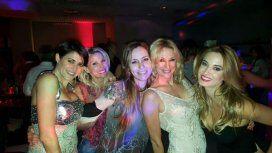 El divertido cumpleaños de Pamela David, rodeada  de amigos
