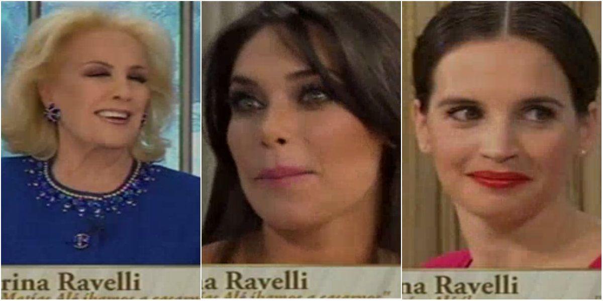 Los tres comentarios picantes de Mirtha Legrand a Sabrina Ravelli por Matías Alé: Hoy estoy terrible