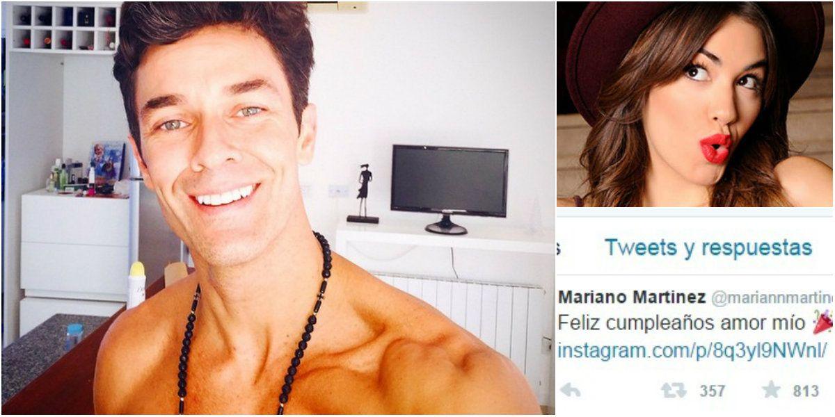 El engañoso tuit de Mariano Martínez en el día del cumpleaños de Lali Espósito