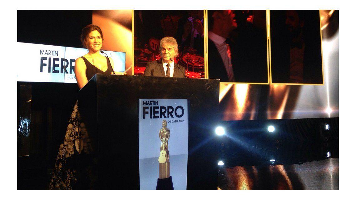 Todos los ganadores de los Martín Fierro de cable 2015