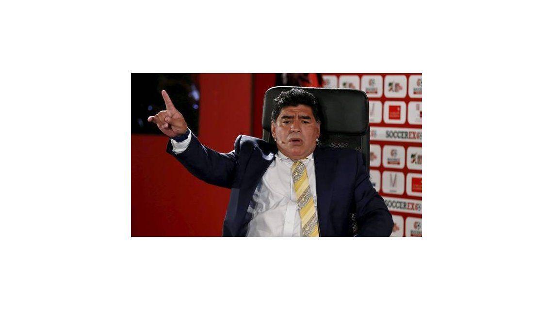 Habló Diego Maradona: Por ahora estoy con mi mujer que es Rocío Oliva