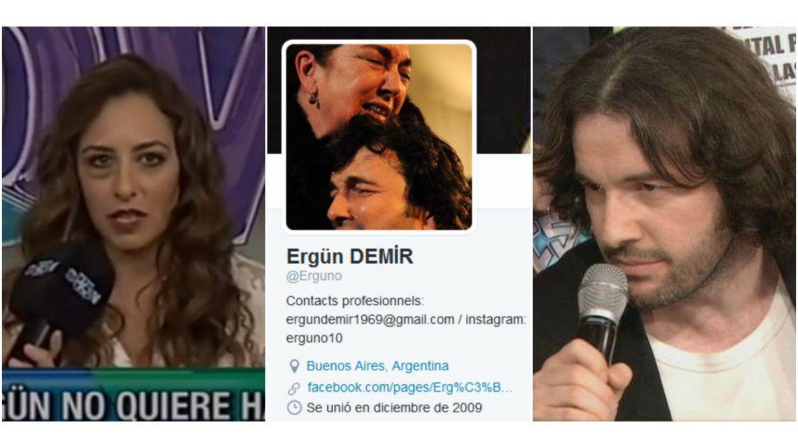 El gesto de Ergun Demir que sorprendió a Jazmín Natour: por qué la sacó de su bio de Twitter